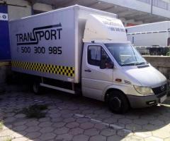 Taxi bagażowe przeprowadzki transport